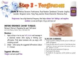 3. forgiveness
